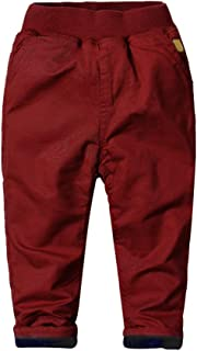 Mud Kingdom Boys Winter Pants Warm Fleece Lining