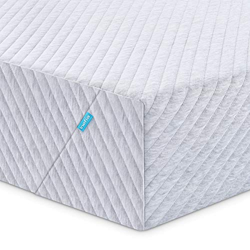 Twin Mattress, Inofia 8 Inch Memory Foam Mattress in a Box, Super Comport Bed Mattress with Support and Cooling System,Twin Size