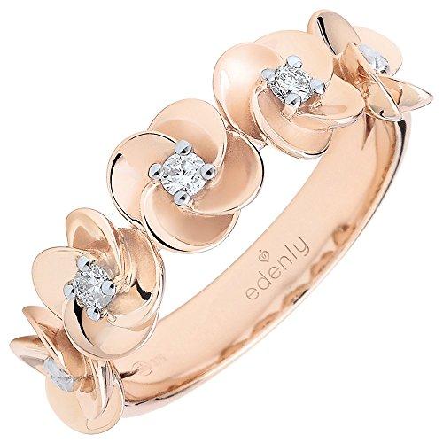 Edenly Damen -  9 Karat (375) Gold  Rose Gold 375/1000