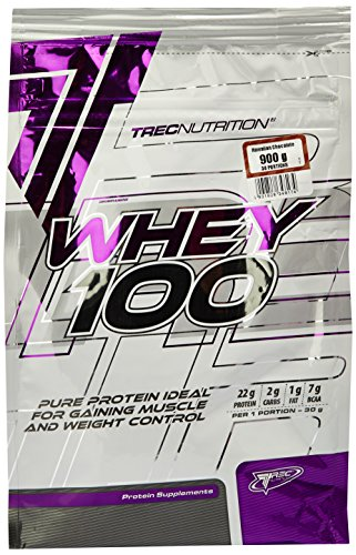 Trec Nutrition Whey 100, Proteinkonzentrat - Geschmack: Schokolade-Kokosnuss, 900 g