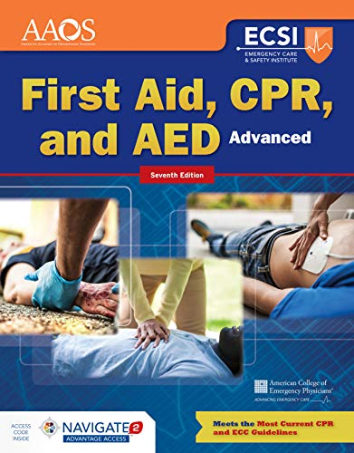 Compare Textbook Prices for Advanced First Aid, CPR, and AED 7 Edition ISBN 9781284162776 by American Academy of Orthopaedic Surgeons (AAOS)