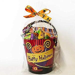 ハロウィン お菓子 詰め合わせ 2021ハロウィンデザインバケツ入り ハロウィンリボンでラッピング