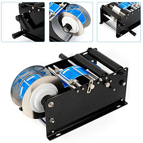 Zephyri - Máquina de etiquetar, redonda, semi automática, semiautomática, máquina de etiquetas semiautomática