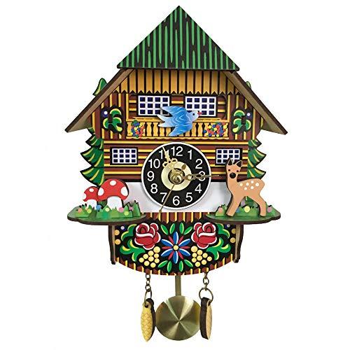 Reloj de pared Mentohe de cuco para sala de estar, cocina, oficina, restaurante, cafetería, decoración de hotel