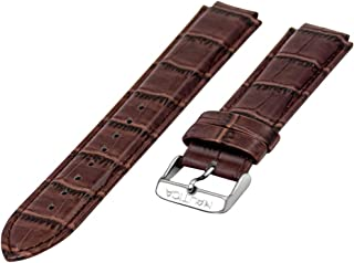 Men's A14680G   N14680G NST 700 Chrono Brown Alligator Grain Leather Replacement Watch Band   Strap