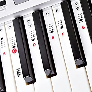 Best Reusable Piano Key and Note Keyboard Stickers for Adult