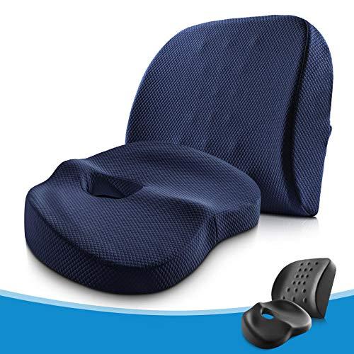 Cnoyz cushion seat Sitzkissen Kissen Büro Schwangere Frauen Hocker Rückenkissen Männer und Frauen Stuhlkissen schöne Hüften Taille