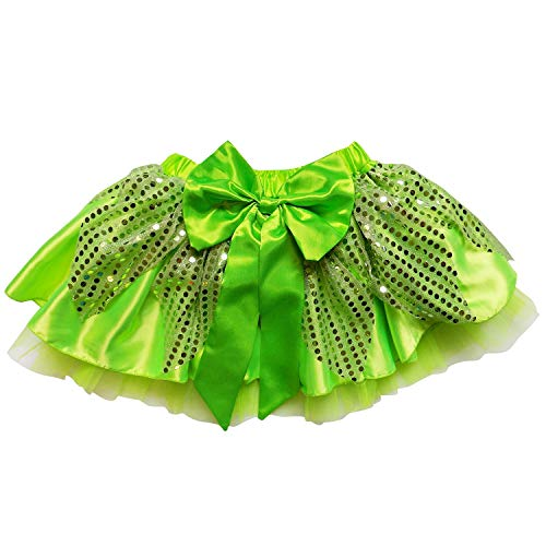 So Sydney Sparkle Running Costume Skirt Race Tutu, Costume, Princess, Ballet, Dress-Up, 5K (L (One Size for Adults), Tinkerbell)