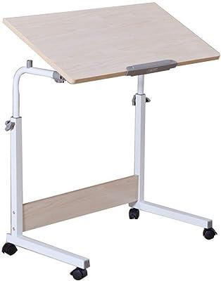 DlandHome 80 * 40 cm Ajustable Mesa de Ordenador Portatil con ...