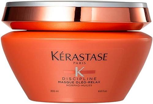 Kerastase - Gamme Oléo-Relax - Masque riche lisse et discipline la fibre pour les cheveux volumineux indisciplinés - ...