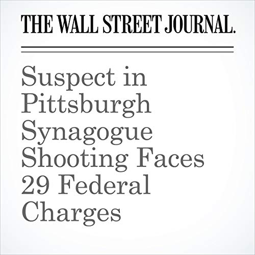 Suspect in Pittsburgh Synagogue Shooting Faces 29 Federal Charges copertina
