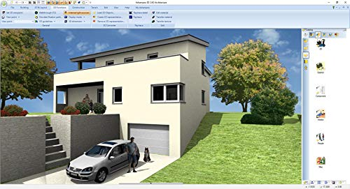 3D CAD 7 Architecture - Plan & design buildings from initial rough sketches to the finished blueprints - CAD and architecture software