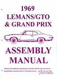 1969 Pontiac LeMans GTO Tempest Grand Prix Judge Assembly Manual