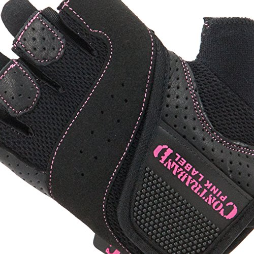 Contraband Pink Label 5137 Women's Padded Weight Lifting Gloves