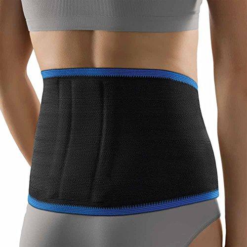 Bort ActiveColor Rückenbandage Halswibel Rücken Stütze Aktiv Bandage, schwarz, L