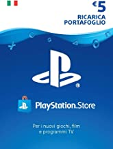 PlayStation Network PSN Card 5€ | Codice download per PS4 - Account italiano