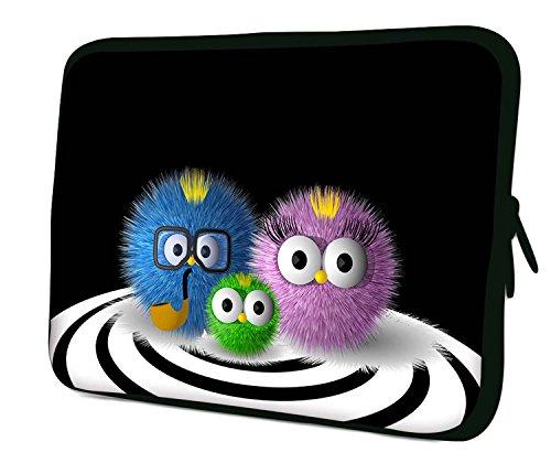 LUXBURG® 14 Zoll Notebooktasche Laptoptasche Tasche aus Neopren Schutzhülle Sleeve für Laptop / Notebook Computer