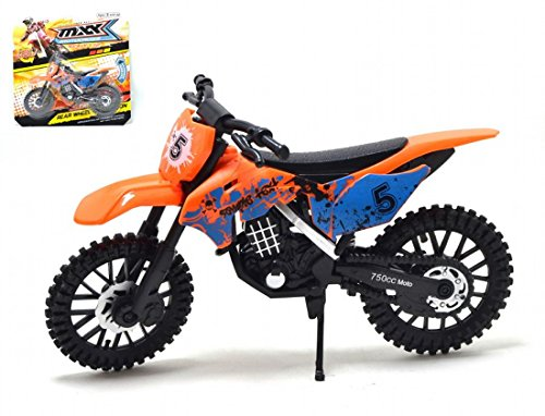 MXX Moto de motocross Motocicleta modelo a escala bicicleta de juguete MXS