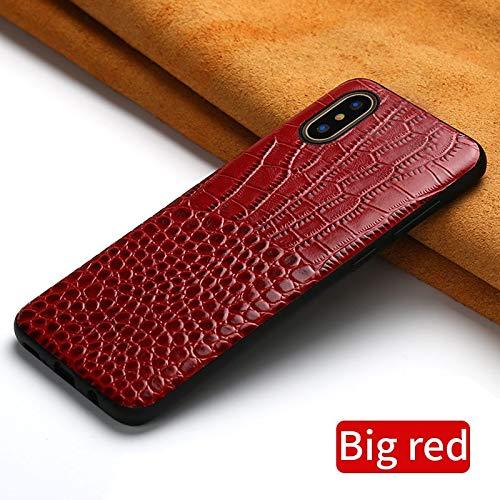 BVCX - Funda de piel para Apple IP11 11 Pro Max X XR XS Max 6 5s 6S 7 plus 8 plus se 5 360, Rojo, For iPhone SE