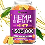 Hemp Gummiés that Work: Start with 2 pieces premium hemp gummiés per serving and adjust as needed, it will give you a natural and pleasant way to help sleep better and wake up refreshed with energy, support calm & happy mood, improve memory & focus, ...