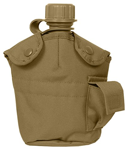 Rothco Gi Style Molle Canteen Cover, Coyote