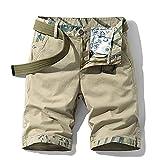 ShZyywrl Pantalones Cortos De Playa para Hombre De Moda Pantalones Cortos Casuales para Hombre,Pantalones Cortos Militares De