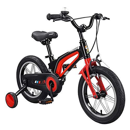 YUMEIGE Kinderfahrräder Kinderfahrrad mit Stützrädern, 14