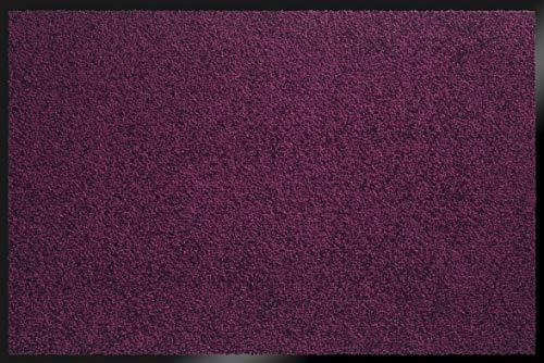 ID Mat Mirande Prune Tapis Paillasson, Fibres Nylon sur Semelle PVC caoutchouté, Violet, 80 x 150 cm