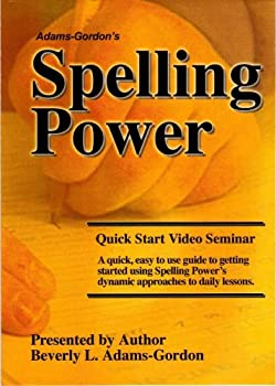DVD Spelling Power: Basic Approach To Daily Spelling Lessons Book
