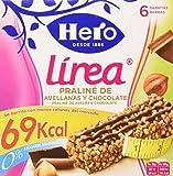 Hero Línea Barritas Praliné de Avellanas con Chocolate con Solo 69 Calorías Sin Azúcares Añadidos