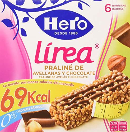Hero Línea Barritas Praliné de Avellanas con Chocolate con