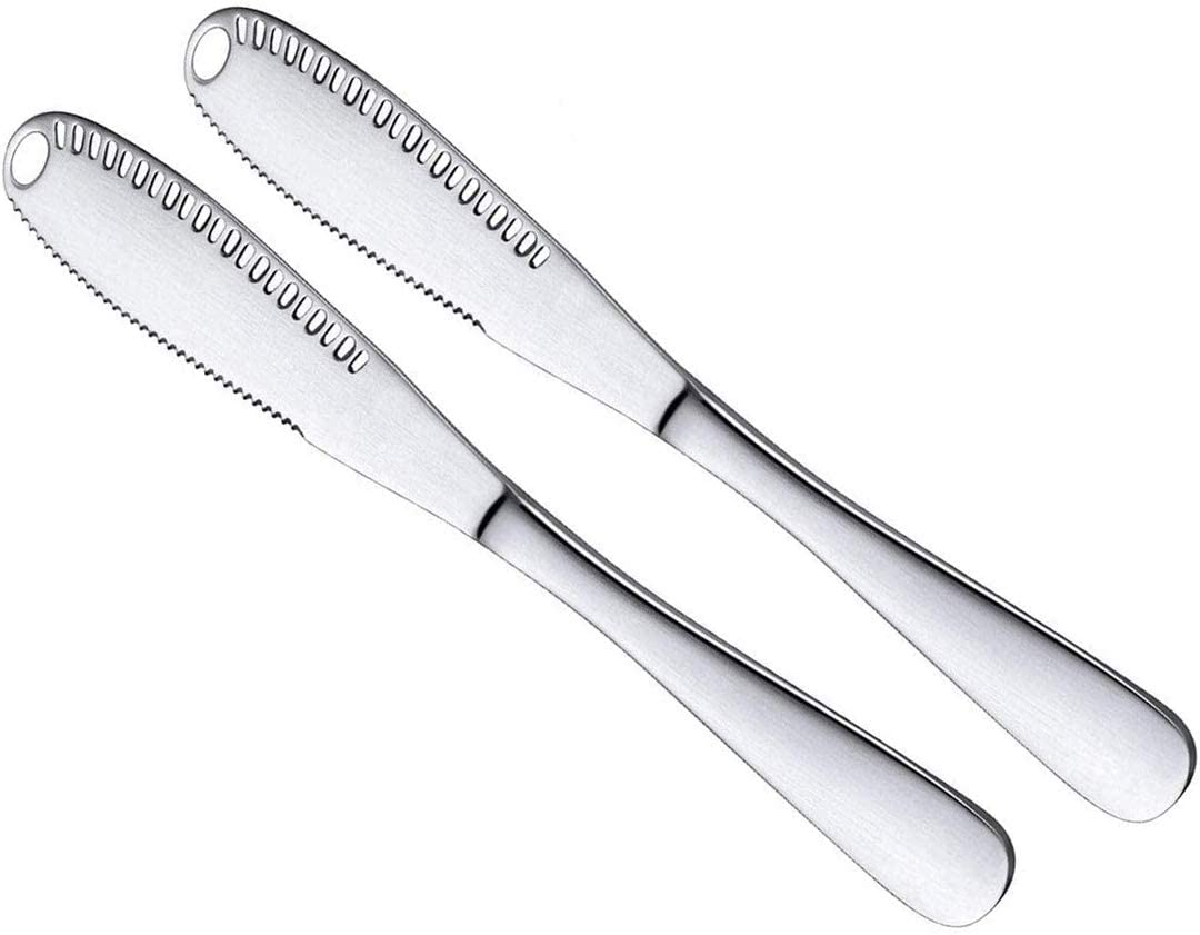 Spreader Gifts Knife Durable Stainless with 25% OFF Steel Holes Butter