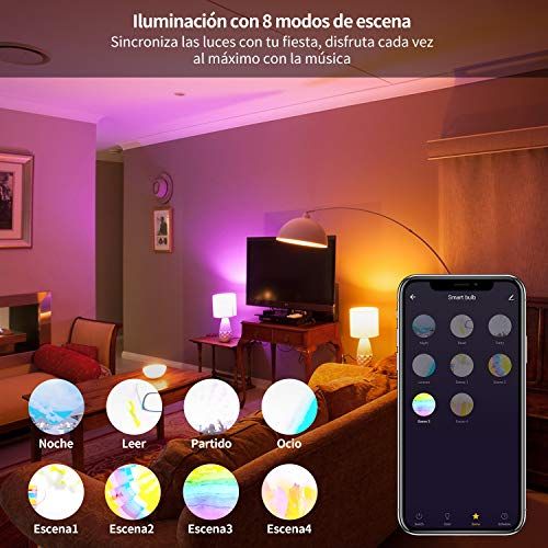AISIRER Bombillas Wi-Fi