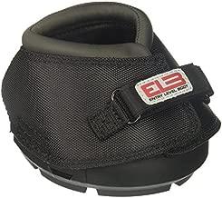 Cavallo Horse & Rider DELBR-4 ELB Regular Sole Hoof Boot, Size 4, Black