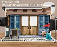 MEETSIOY ヴィンテージコーヒーハウスの背景幕 写真用 ヴィンテージスタイル 暖かいコーヒーバー背景 ヴィンテージテーマ パーティー背景 装飾小道具 10x7フィート ZYMT0468