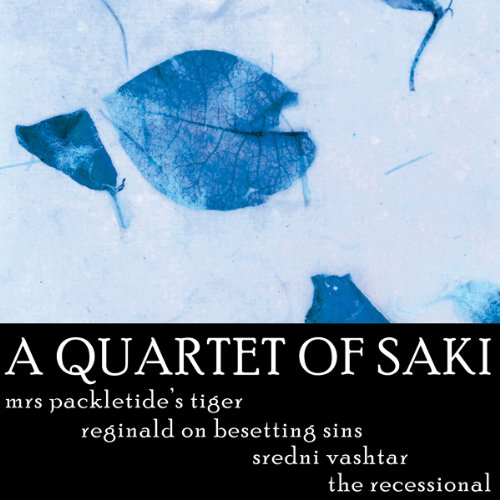 A Quartet of Saki audiobook cover art