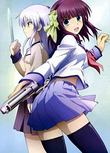 BOIPEEI Rompecabezas Angel Beats Anime Manga Imagen Adulto Imagen de Rompecabezas de Madera para niñas Hogar Decoración de la Pared de la casa Mural de Pared Juego de Rompecabezas de 1000 Piezas