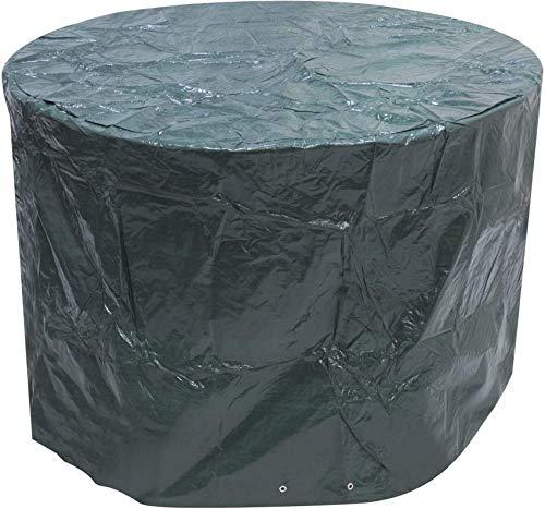HCYY Juego de Muebles de Patio de jardín al Aire Libre Redondo pequeño, Cubierta de 1,42 MX 0,96 m / 4,7 pies x 3,2 pies