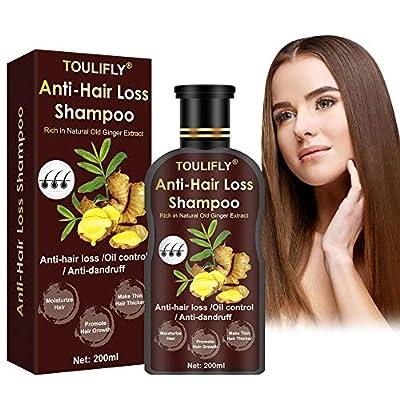 Hair Regrowth Shampoo,Hair Loss Shampoo,Hair Growth Shampoo,Ginger Shampoo,Hair Thickening Shampoo,Hair Loss Treatments Anti Hair Loss for Thinning Hair Women Men