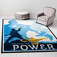 Safavieh Collection Inspired by Disney'sliveactionfilm Aladdin - Genie Of The Lamp Rug (5' x 7')