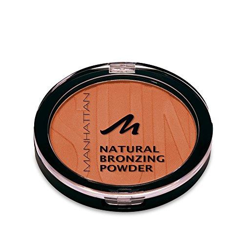 Manhattan Bronzing Powder, Bronzer für einen natürlichen, sonnengeküssten Glow, Farbe Brown 17040, 1 x 10g