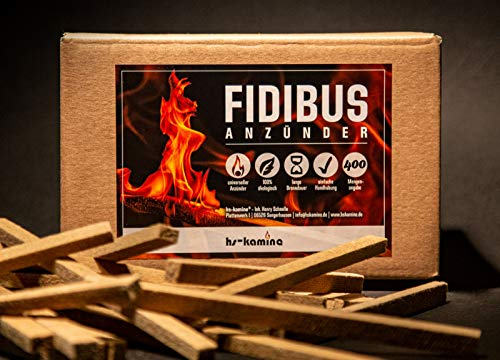 400 Stück Fidibus Kaminanzünder Grillanzünder Anzünder hochwertige Anzündstäbe