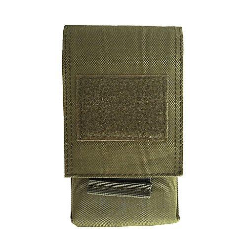 MagiDeal Sac Universel pour Téléphone Portable Housse De Protection Camping Randonnée - Vert, 17 x 9,5 cm