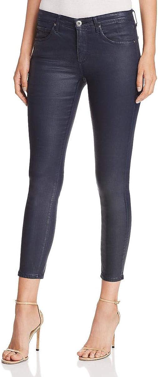 AG Adriano Goldschmied Women's Leatherette Legging Ankle Super Skinny
