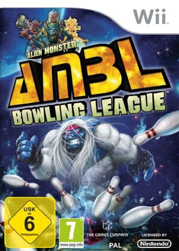 Alien Monster Bowling League