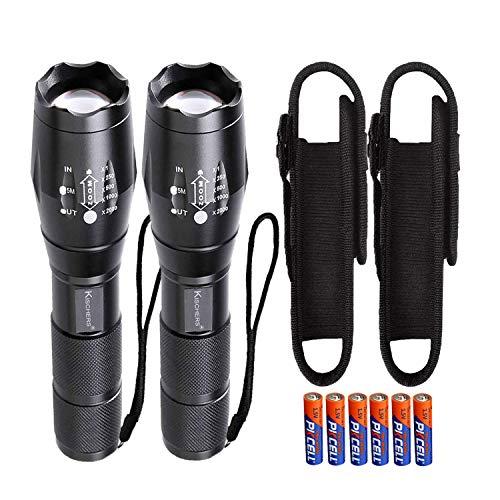 Led Lampe de poche, lampe torche tactique Portable extérieur étanche XML-T6Ultra Lumineux Lampes de poche