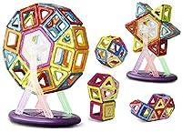 Impara Con Gioco: Questi blocchi magmatici sono uno strumento unico per i bambini in modo da arricchirli l'intelligenza e la fantasia. I colori dell'arcobaleno sono più attraenti e vivaci. Possibilità Infinite: Dalla palla magica, razzo, dagli animal...