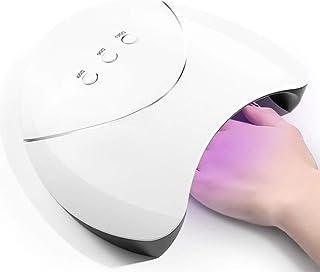 ネイルドライヤー36W LED UVランプネイルドライヤーすべてのネイルジェルを硬化させるマニキュア用12個のLED太陽光用UVジェルネイルアート工作機械、絵のように色