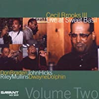Live at Sweet Basil 2 by CECIL BROOKS III (2002-05-14)
