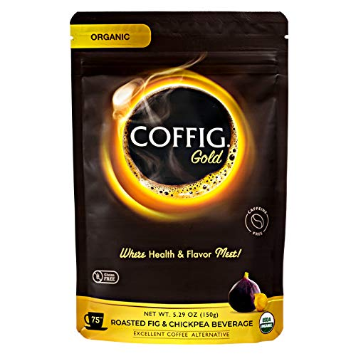 COFFIG GOLD - Organic Roasted FIG & CHICKPEA Coffee Substitute